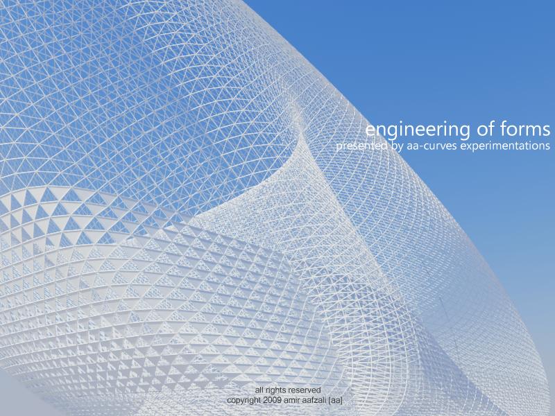 Amir Aafzali engineering of forms