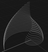 Planar curves once isolated