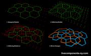Hexagonal Weaving
