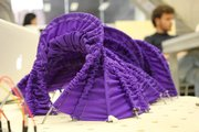 Strings - Interactive Fabric Pavilion