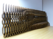 exhibition wall design  model by DOT DESIGN ,SCUT,CHINA