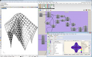 Mesh Subdivided on Weaverbird using structural analysis