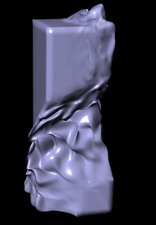 Voxel + Curve hard edge