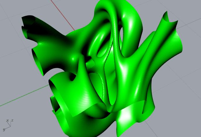 3d Mandelbrot isosurface