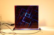 smart screen - shape memory alloy