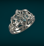 Nenya Ring of Galadriel 2