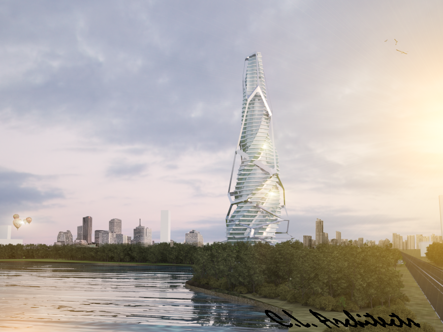 Parametric tower