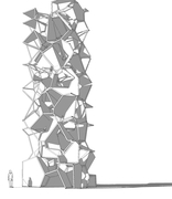 voronoi tower 1st iteration 1