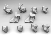 Variational Shape Aproximation and Planar Remeshing