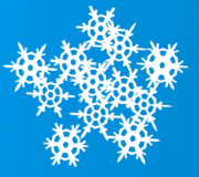 Generated Snow Flakes