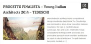 Young Italian Architects 2014