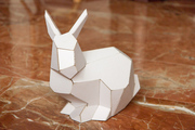 Faceted Stanford Bunny