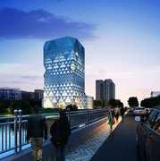 Sierpiński Building__by Adam Chałupski