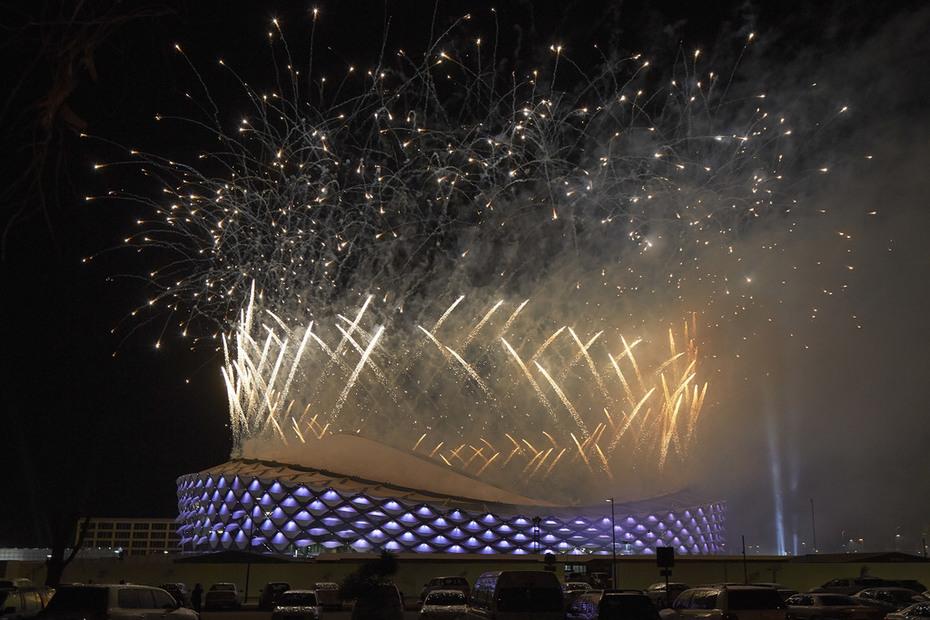 Hazza Bin Zayed Stadium - Pattern Design