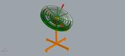 Fresnel lens solar concentrator
