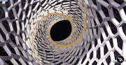 Parametric Voronoi Tower - inside