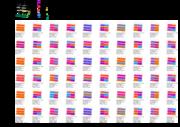 Flat matching matrix
