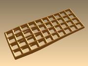 Cocoon waffle