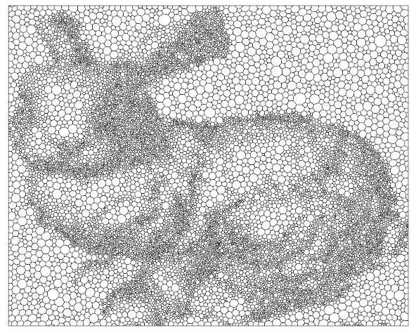stippling and laplacian