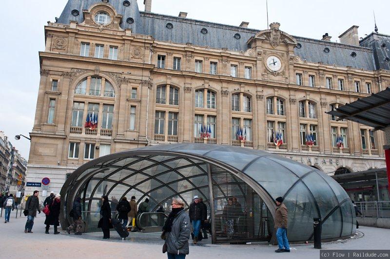 Metro Gare Saint-Lazare
