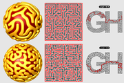 Mazes on Meshes