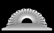 kengo kuma's irori paper pavilion GH_0