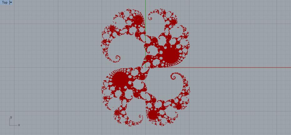 Julia Set for c=0.28+0.008i