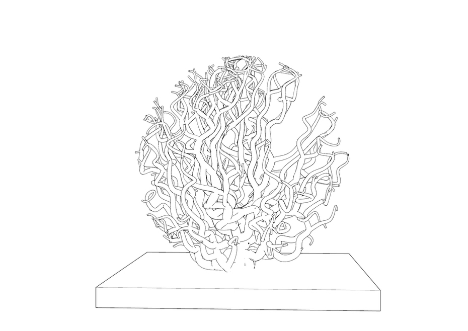 spherical Tree - Homemade Shortest path