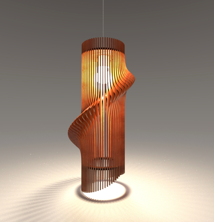 Parametric LampShade 5-01