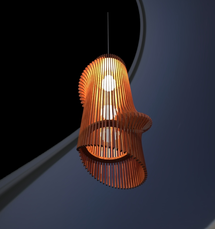 Parametric LampShade 5-02