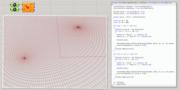 Elliptic coordinates test