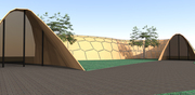 Parametric Segmental Timber Shell Structure 2