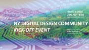 NY Digital Design Community Kick-off Event