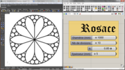 rosette stained glass window - 02/02