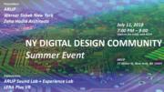 NY Digital Design Community - Summer Event