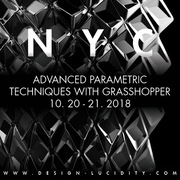 Advanced Parametric Techniques with Grasshopper, October 20-21
