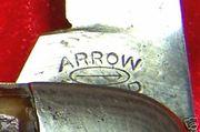 Arrow Brand Toenail tang stamp