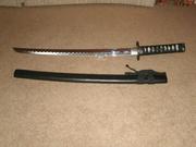 Japanese katana sword w/sheath