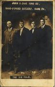 J D Case Sons Co. Big Four Postcard