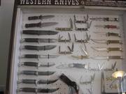 Western Knife Display