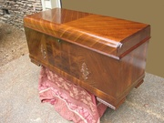My Lane Cedar Chest conversion to Knife Collector's Chest