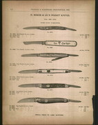 Old Boker Catalog Pages