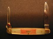Close up of Remington Pearl Handle