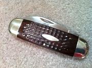 1975 Case XX #6250 Elephant Toe nail Sunfish Knife