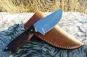 Cocobolo Modern Skinner TAU Custom Knives