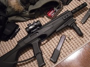 Here's a carbine I just finished modifying and you will never guess what it is!