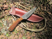 Blind Horse Knives Frontier Valley Blade/Black Walnut (self made)