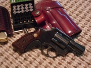 My Smith and Wesson model 36 (chief) with tyler grip extension another favorite deep conceal