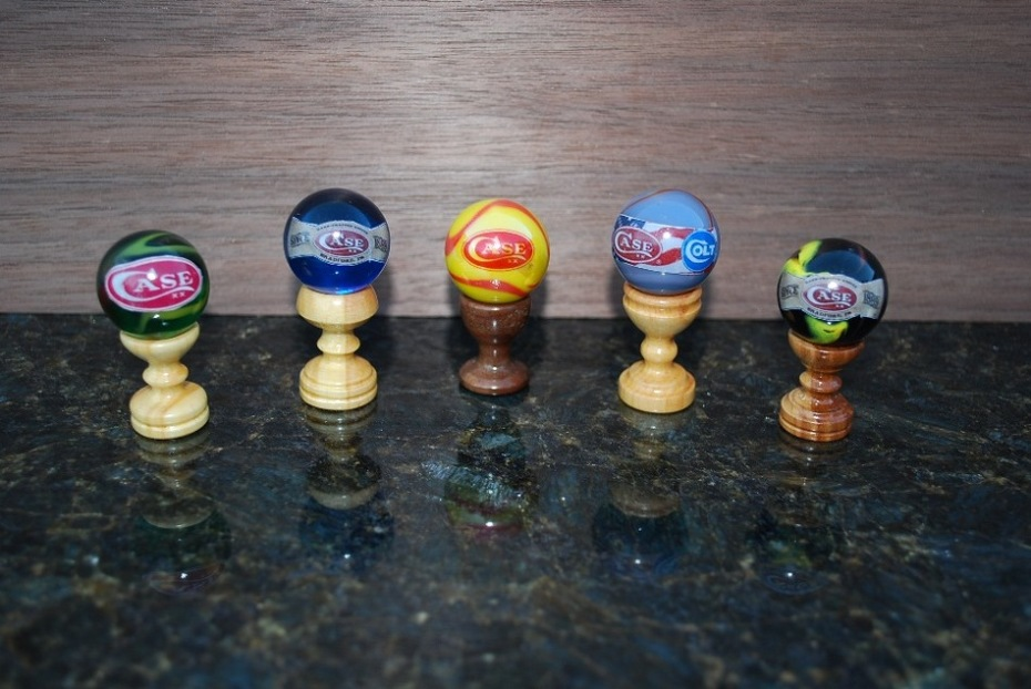 Case marbles on my stands