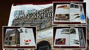 """Six-Page Portrait of Queen Cutlery in """"Messer Katalog 2014"""""""